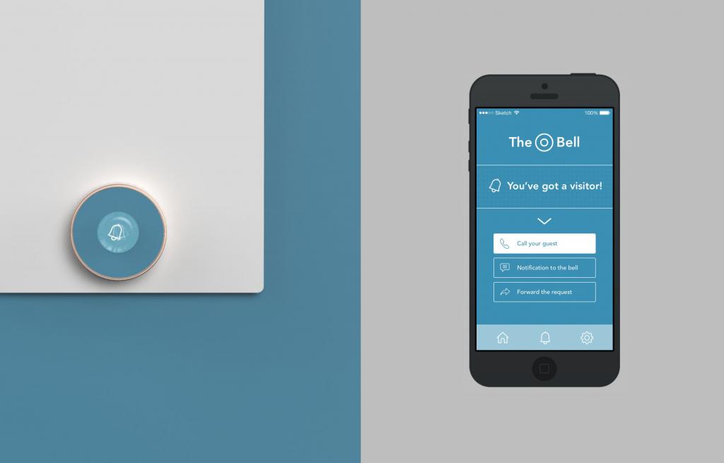 The Bell - app screen